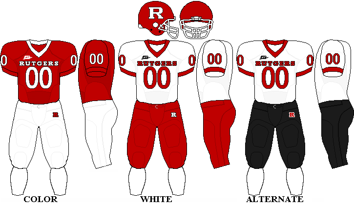 Rutgers Scarlet Knights Football Team Uniforms Rutgers Scarlet Knights Team Uniforms Rutgers