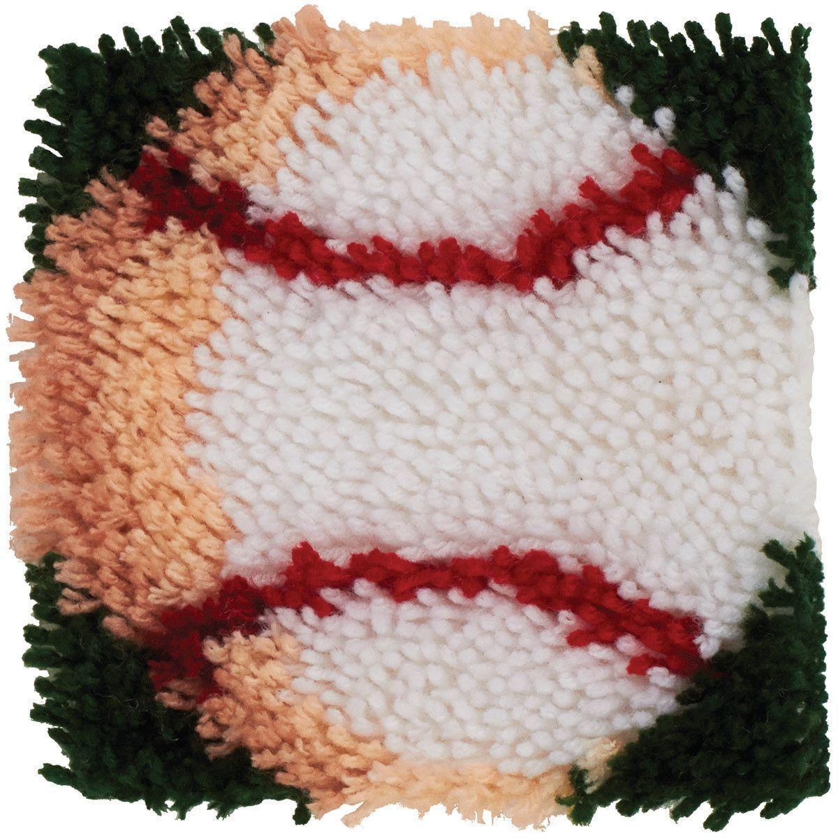 Knitting Warehouse Latch Hook Rug Kits Braids