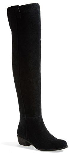 a2ee16d4537 Sam Edelman  Johanna  Over the Knee Suede Boot (Women) on shopstyle ...