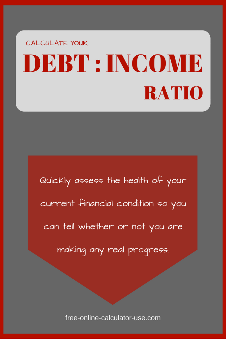 This Debt To Income Ratio Calculator Will Help You To Quickly