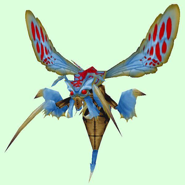Blue & Red Boss Wasp Wasp, Pets