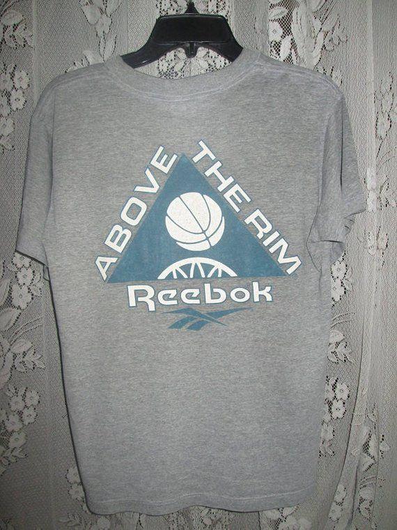 27c57c8545c9bd Vintage Above The Rim Movie REEBOK Basketball T-shirt Tupac Shakur ...