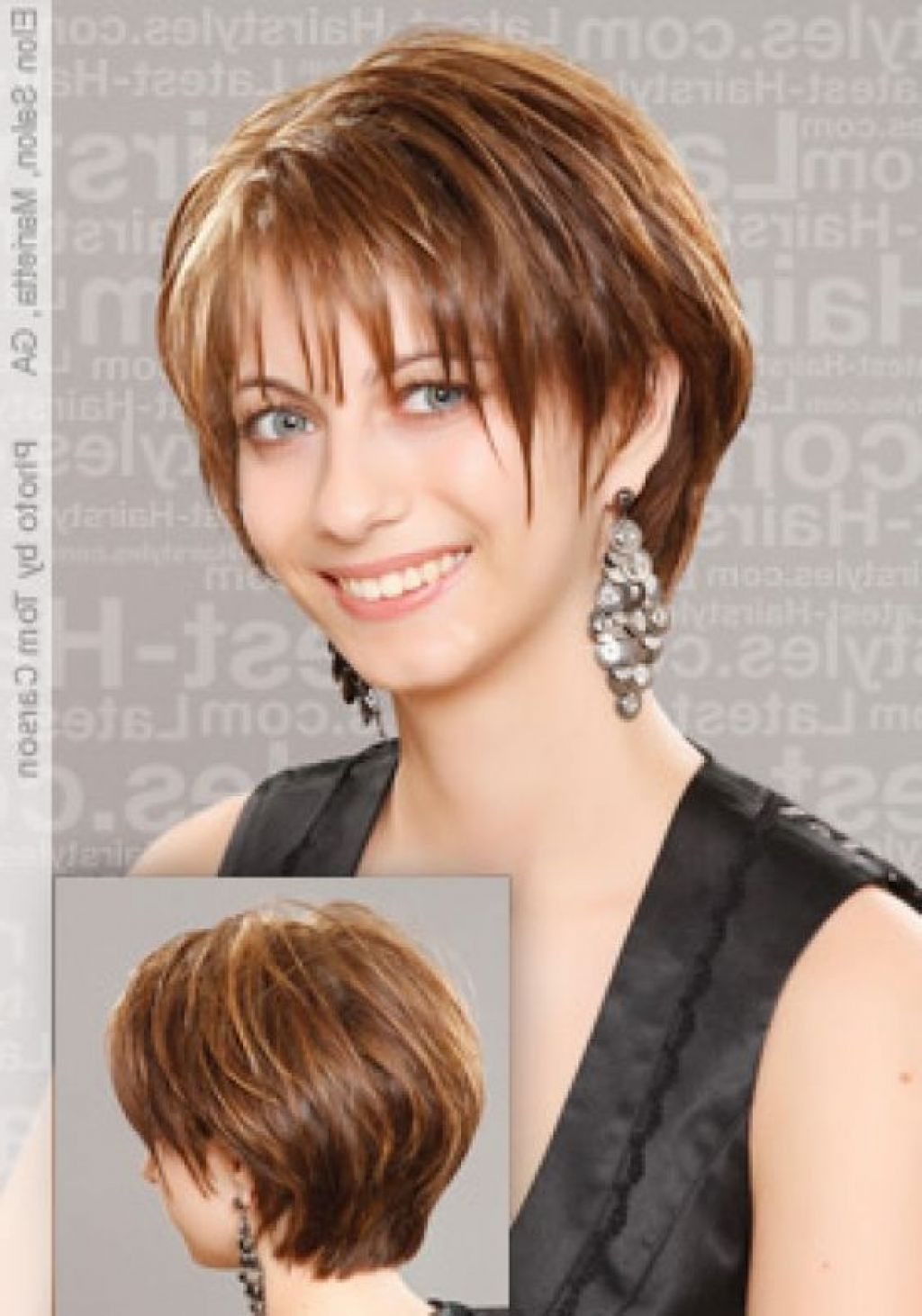 fun hairstyles for over 40 | short hairstyles women over 40
