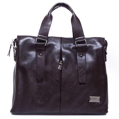 Terry Palmer Dark Brown Glossy Mensbag Rp. 599.000