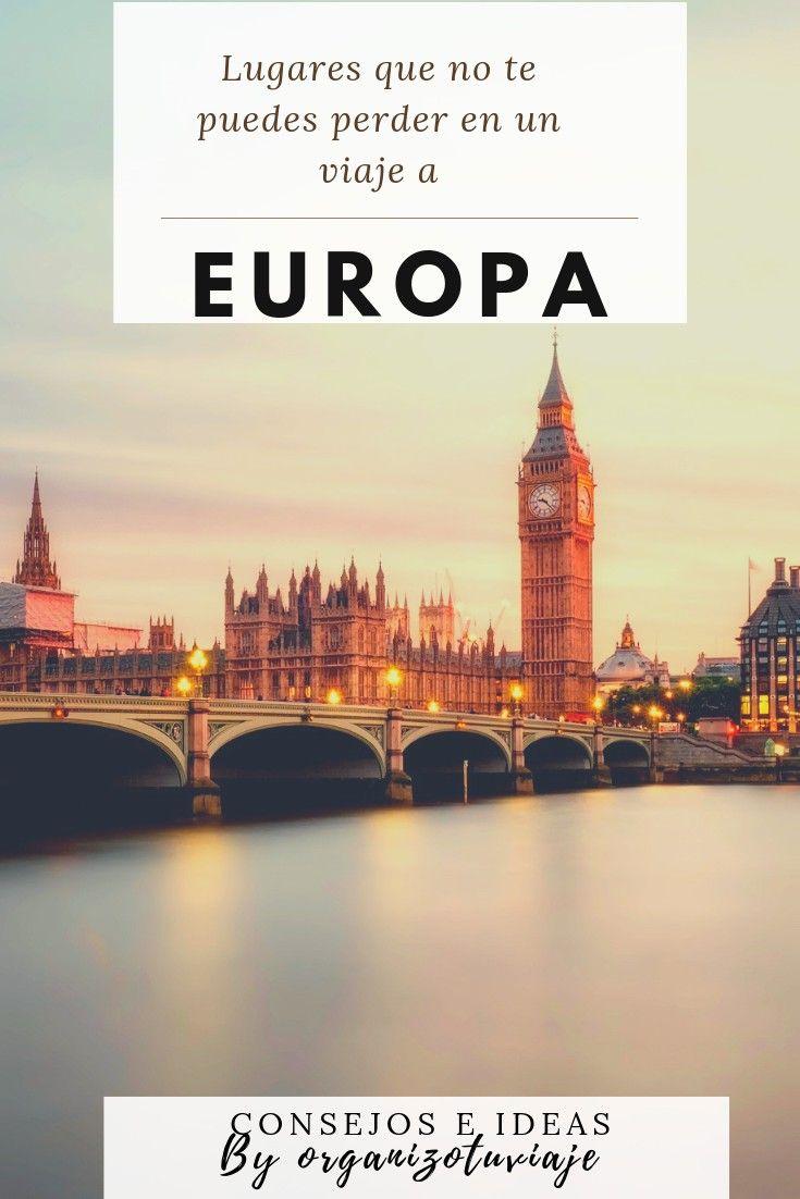 Viajar A Europa Lugares Geniales Consejos E Ideas Viaje A Europa Destinos Baratos Europa Europa