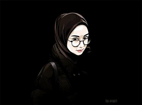 Islamic Anime Ve Tesettur Di 2020 Lukisan Wajah Gambar Ilustrasi Lukisan