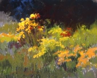 Floral Delight by Kim Lordier Pastel ~ 8 x 10