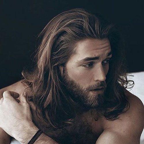 Men S Long Hairstyles Long Hair With Beard Http Www 99wtf Net Men Inspirations Stylish Men Beard Styles For Teenagers Long Hair Styles Men Long Hair Styles