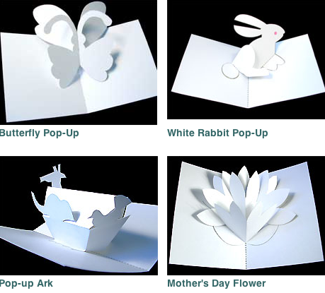Pop Up Card Templates