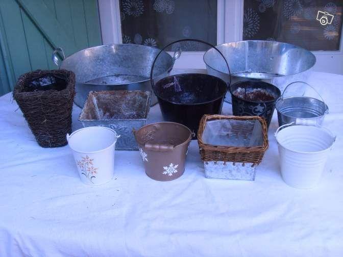 Caches pot et bassine en zinc Décoration Bouches-du-Rhône - leboncoin.fr