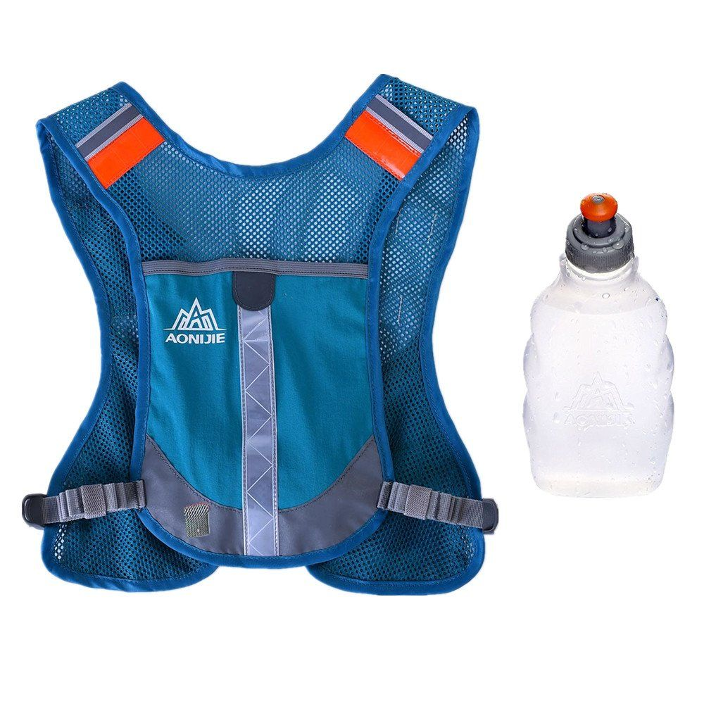 Premium Reflective Vest Give Sport Water Bottle as Gift
