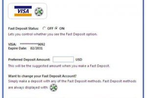 Pokerstars Deposit Methods