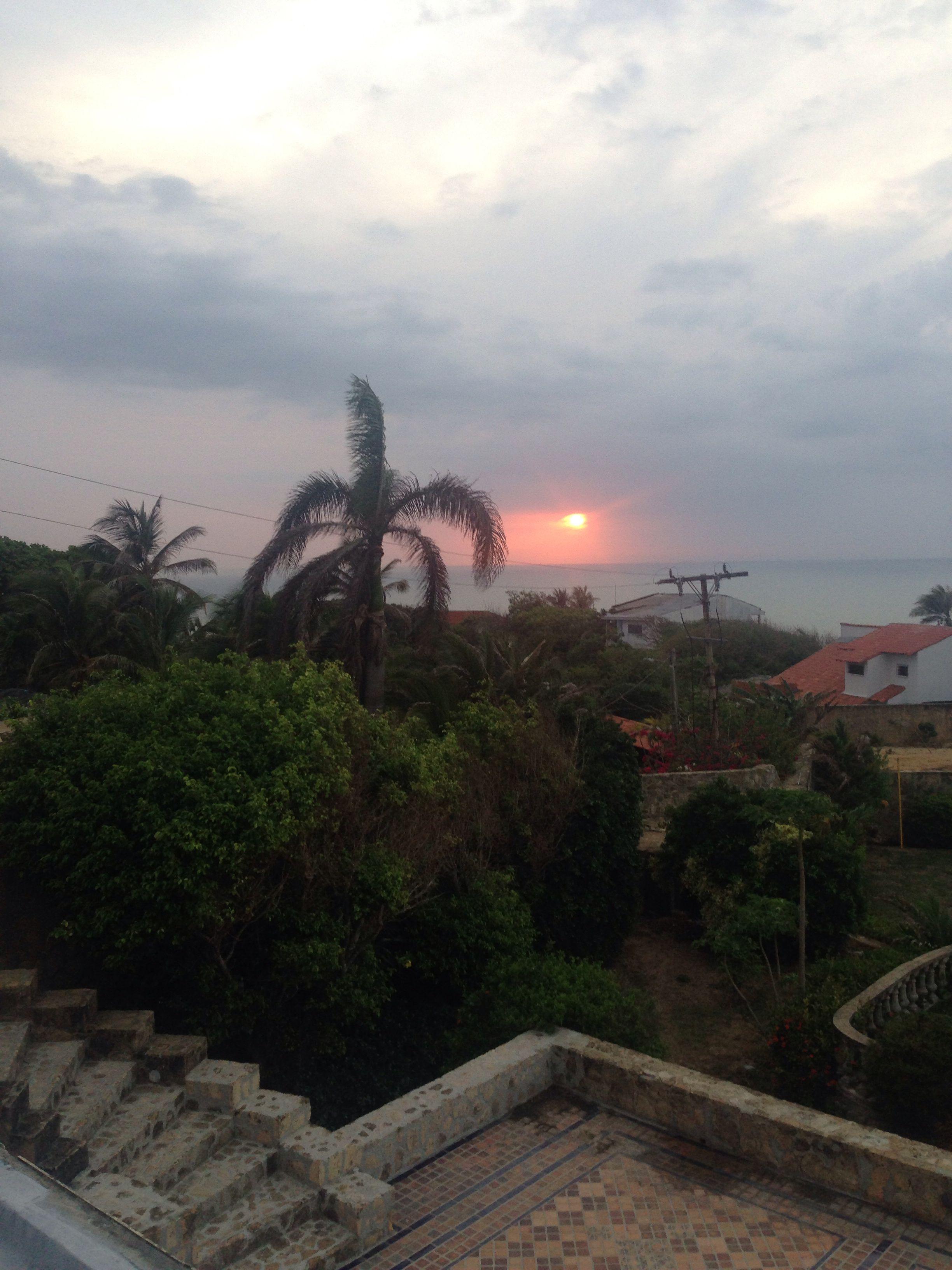 Atardecer en Prado Mar - Colombia