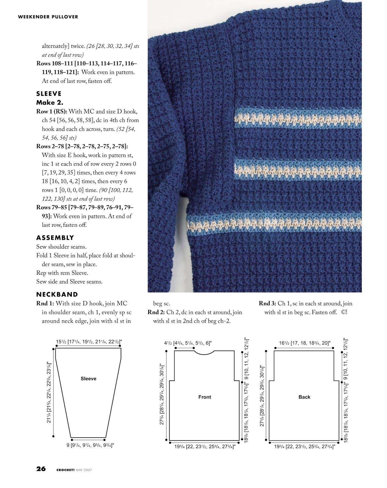 crochet patterns   Blusa para criança de Trico 2 anos   Pinterest