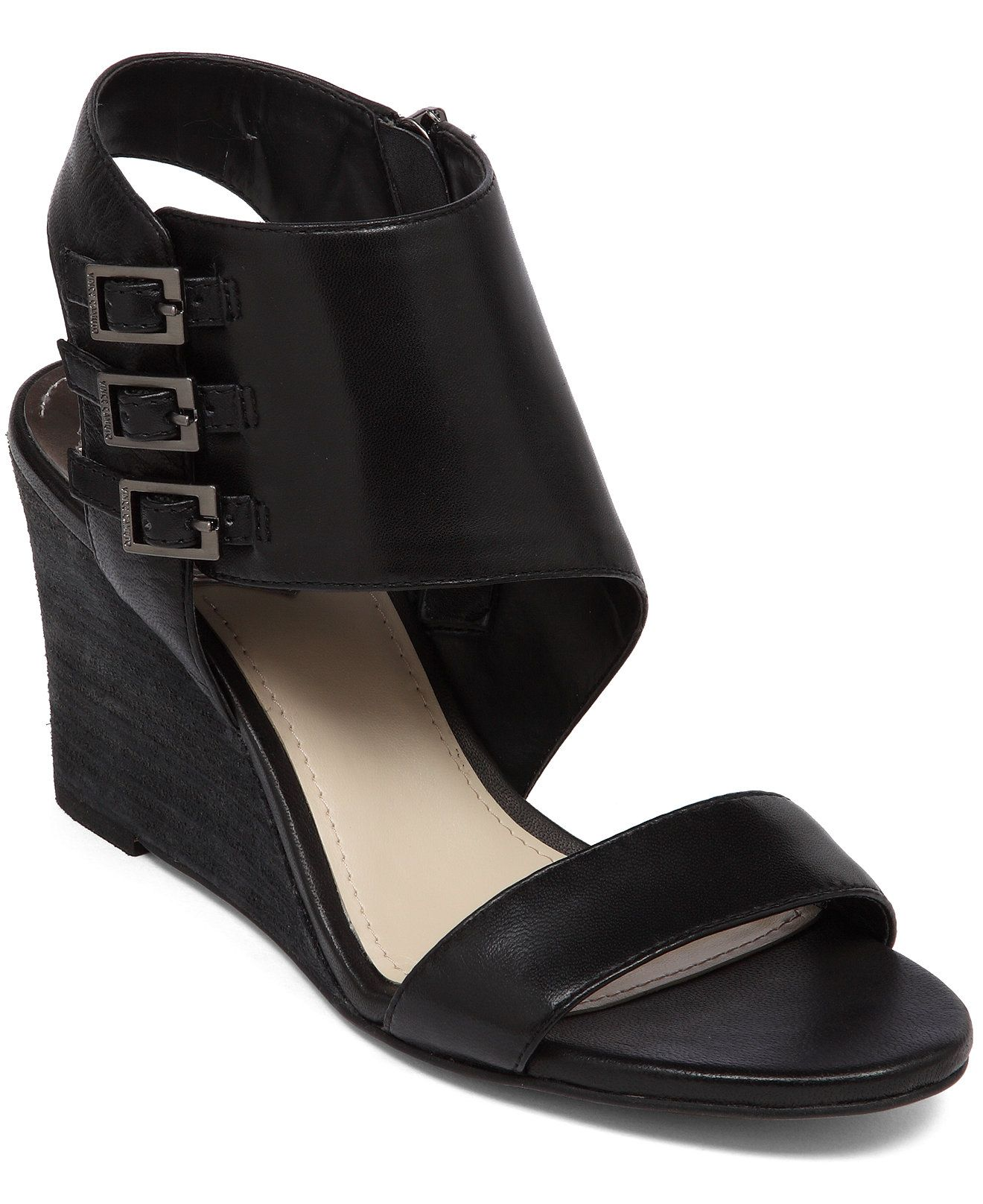Vince Camuto Lyssia Wedge Sandals - Women - Macy's