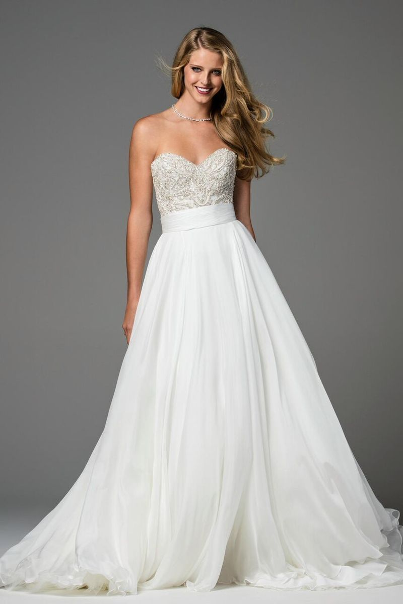 Watters Wedding Doris Skirt | Blush Bridal | Watters Brides ...