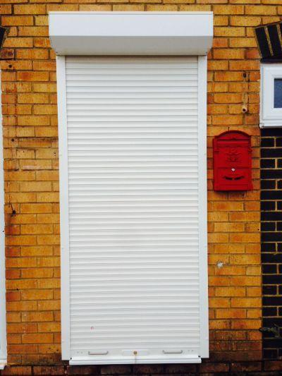 internal roller shutter doors - Google Search & Pair anthracite grey roller shutter garage doors | Exterior ideas ... Pezcame.Com