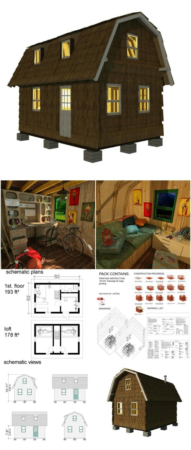 25 Plans to Build Your Own Fully Customized Tiny House on a Budget ...