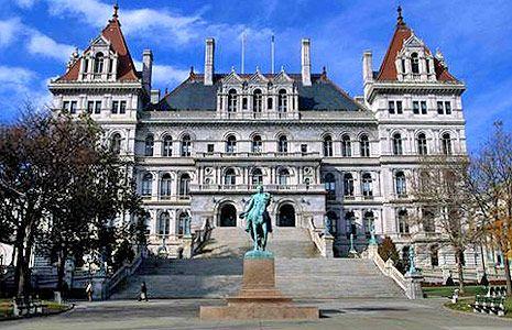 New York State Capitol Albany New York Albany New York New York State Fifty Nifty United States