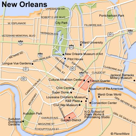 City Park New Orleans Map Google Search New Orleans Map New