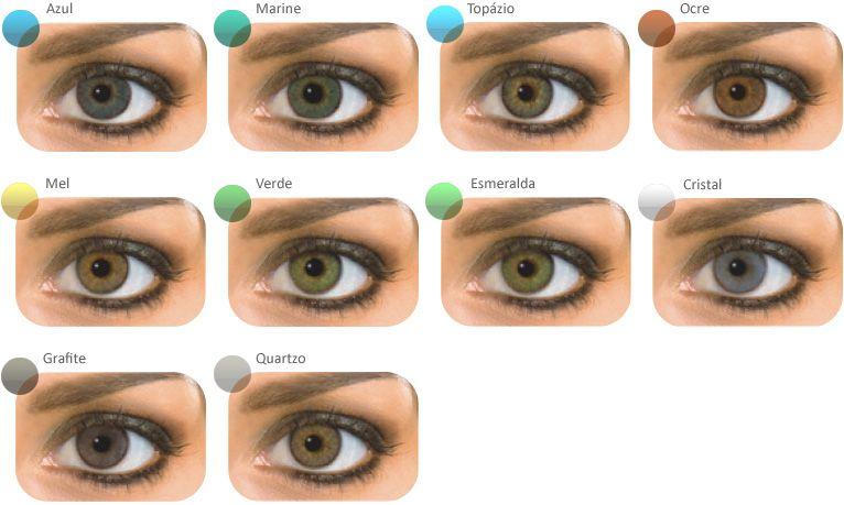 2114412a29a30 Natural Colors – Teste Virtual – Olhos Pretos Lentes De Contato Azuis,  Olhos Castanhos Escuros