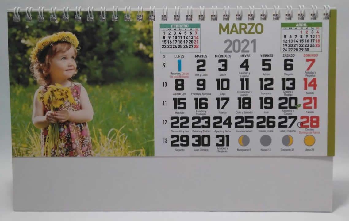 Es el calendario de escritorio por excelencia. Ideal para todos