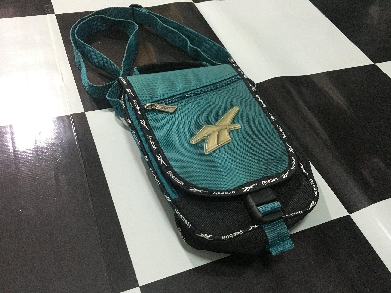 best order online release date Vintage Reebok crossbody bag big logo small shoulder bag ...