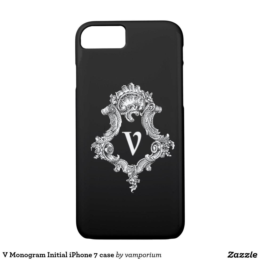 initial iphone 7 phone cases