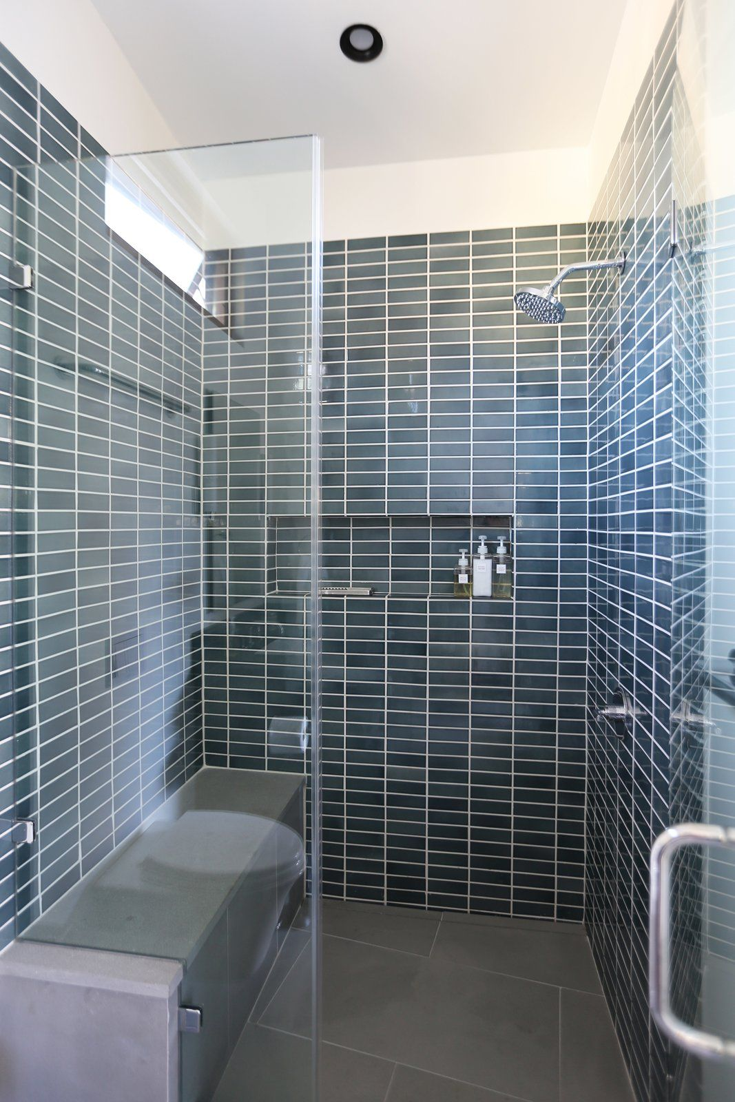 Pool House Shower Photo 2 Of Los Altos Hills Landscape Modern Home