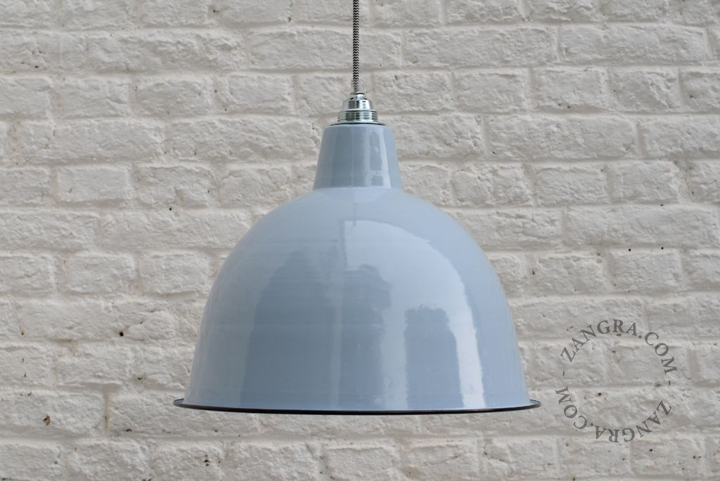 Outdoor Warehouse Light Lamp Factory Shade Pendant Vintage