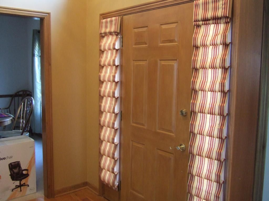 Beautiful Front Door Side Window Curtains How To Make