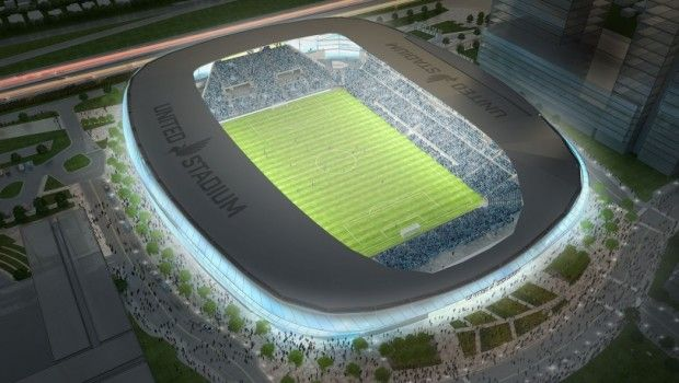 MLS Minnesota United release updated stadium construction timeline - construction timeline
