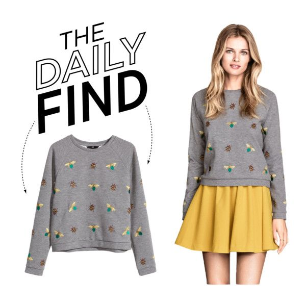 The Daily Find: H&M Embroidered sweatshirt top
