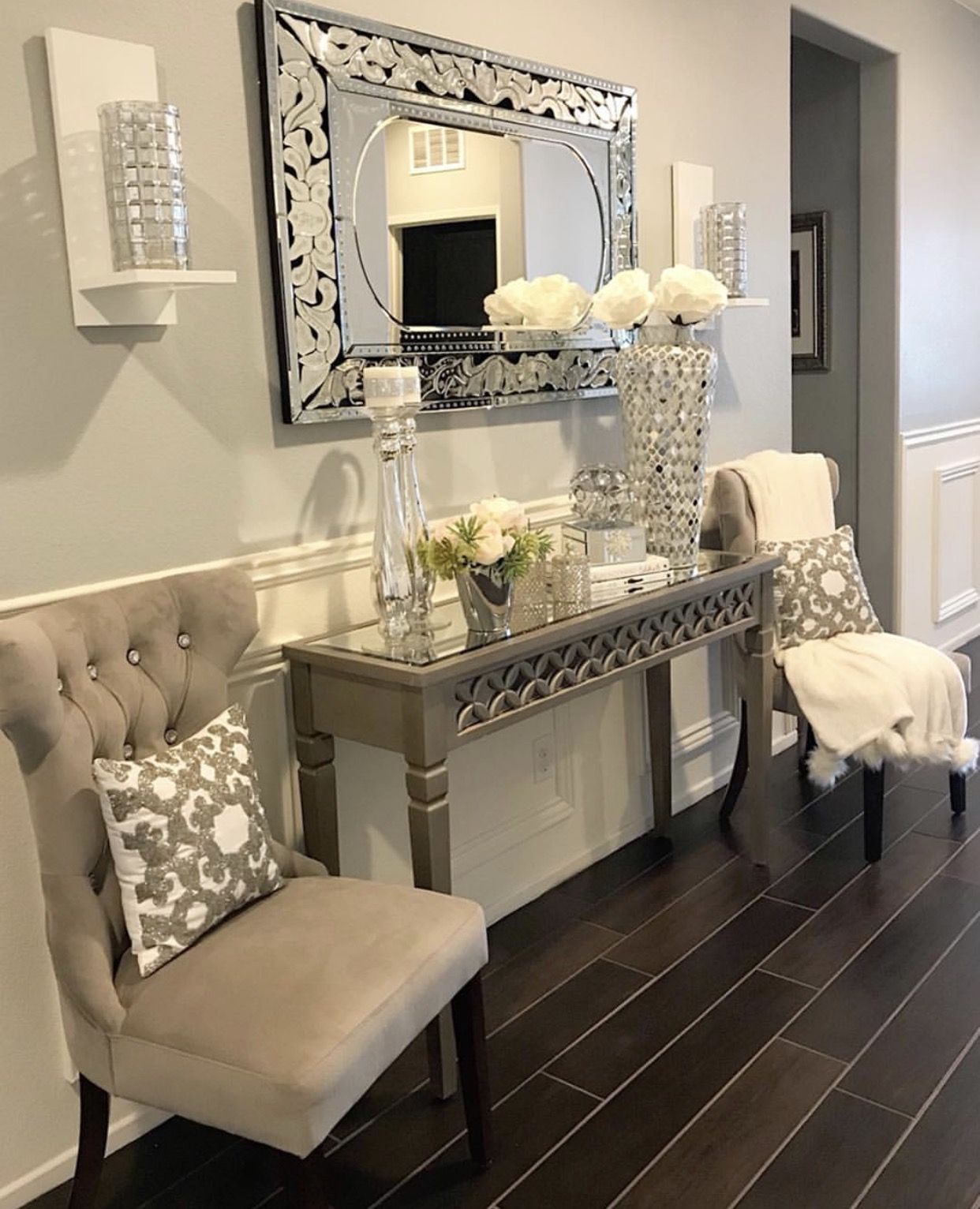 Living Room Ideas With Modern Console Tables