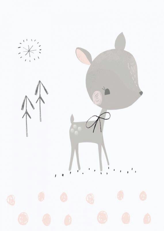 Pin de denisa srncov en obr zky pre du u pinterest for Laminas infantiles estilo nordico
