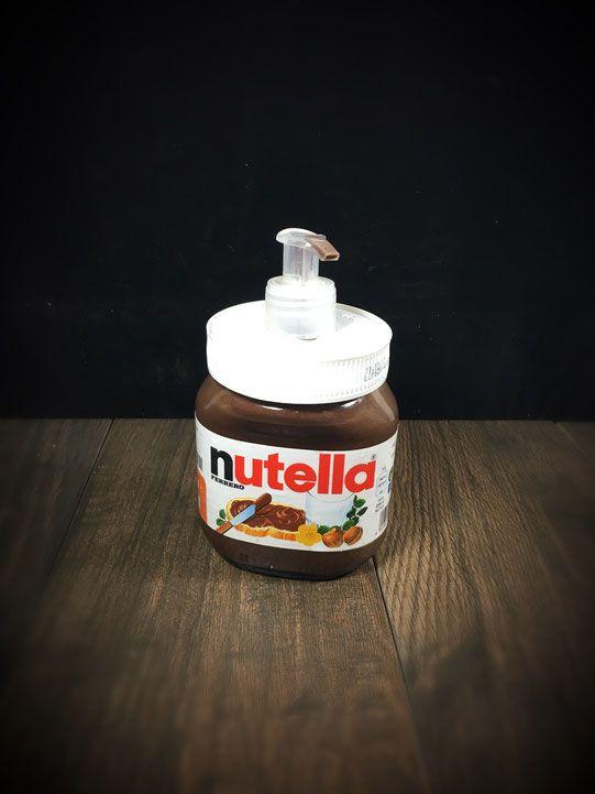 Nutella-Seife. Für etwas Spaß beim Händewaschen.