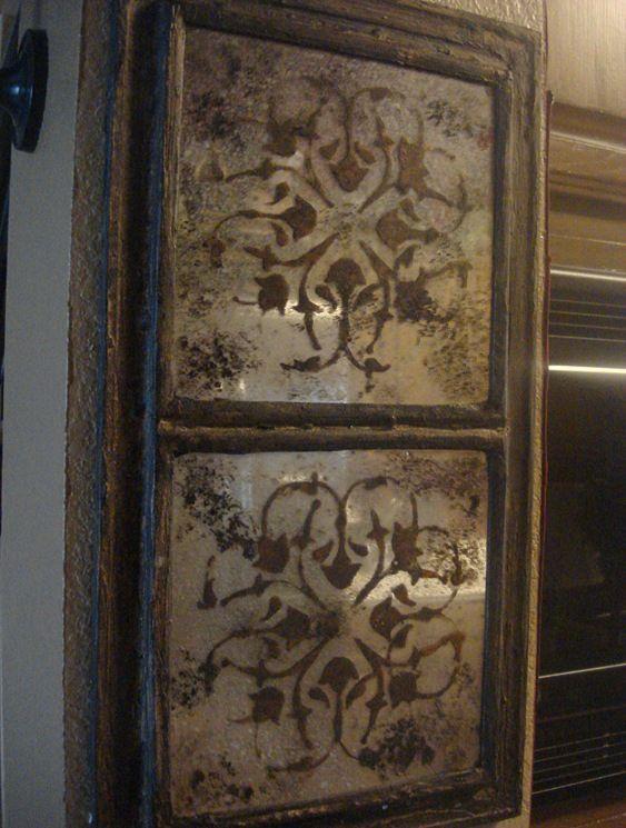 Let It Shine Antiqued Smokey Moroccan Mirrors Antique Mirror Diy Dollar Store Mirror Distressed Mirror