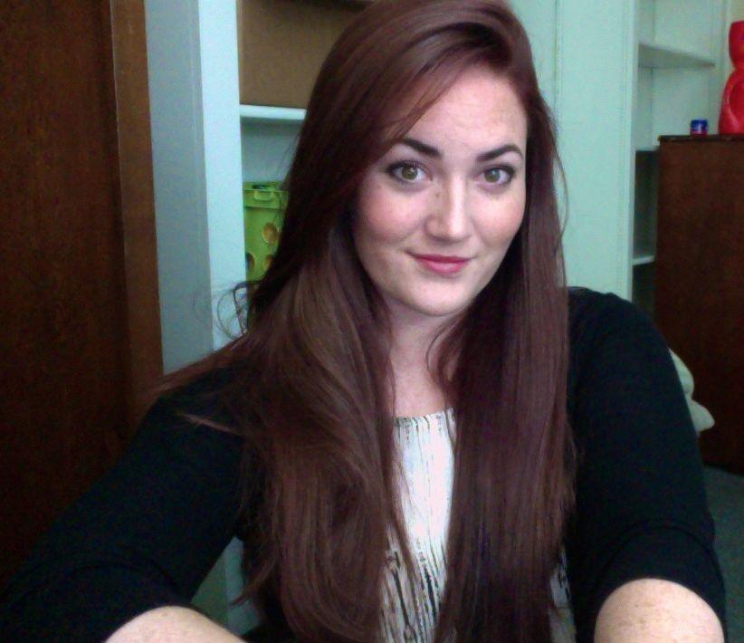 My Result Of John Frieda 4r Dark Red Brown Hair Color It Is Much