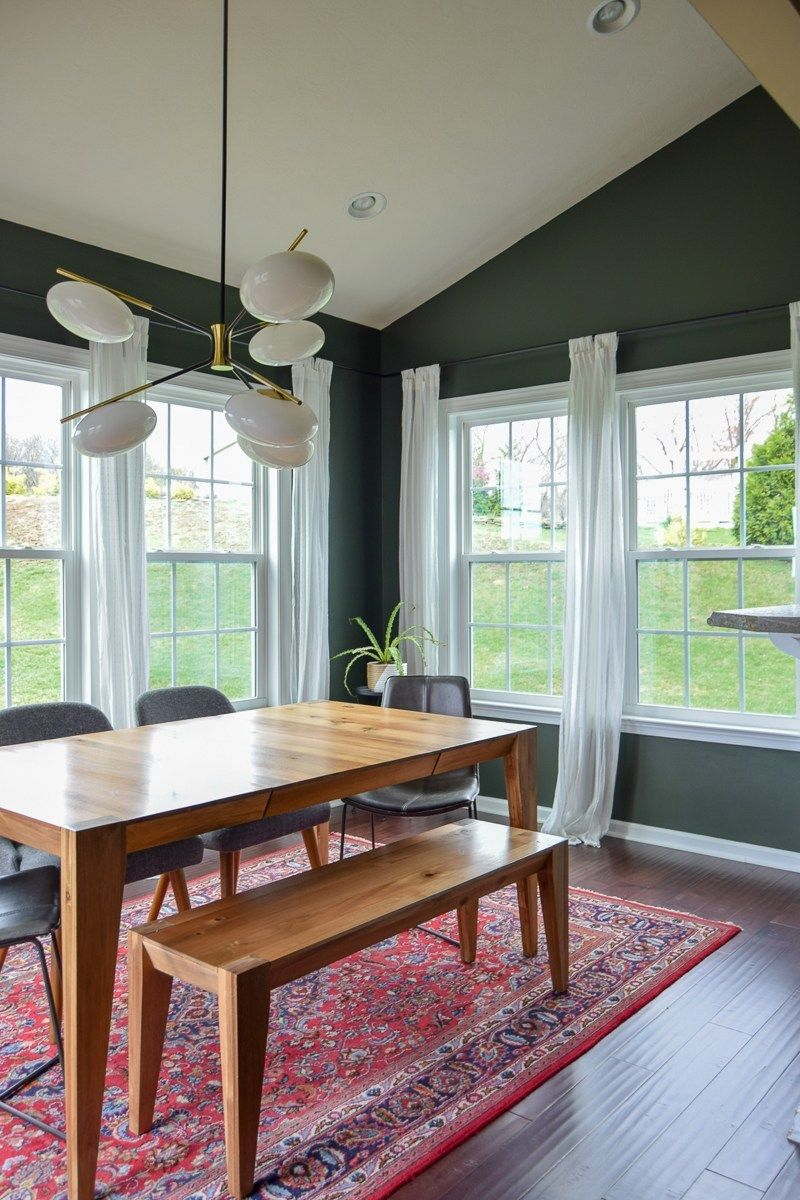 Modern Dining Room Reveal images
