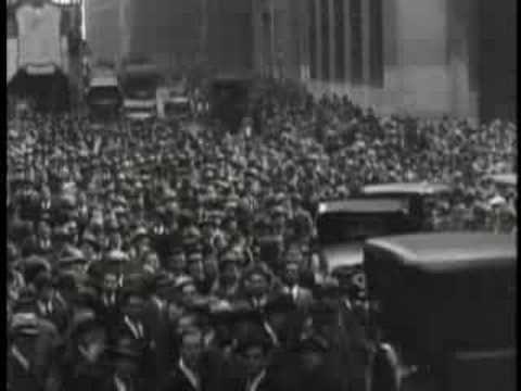 1929 Stock Market Crash - YouTube