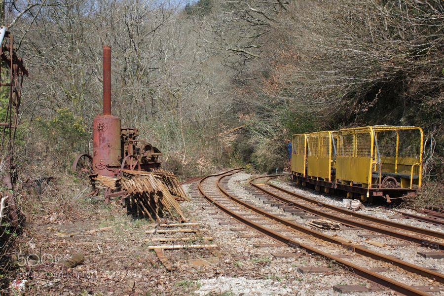 Mine Railway by tubes