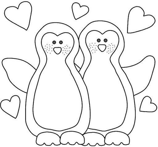 Pin by Krissy Begeske on DIY! Pinterest Penguins, Template and - new christmas coloring pages penguins