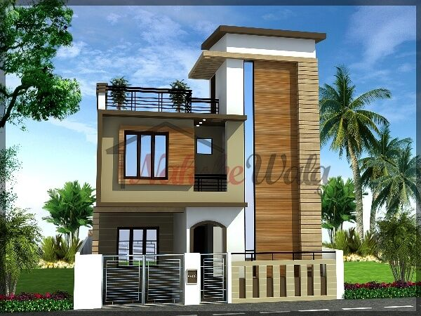 Floor Front Elevation Usa : Double floor house design s g elevation
