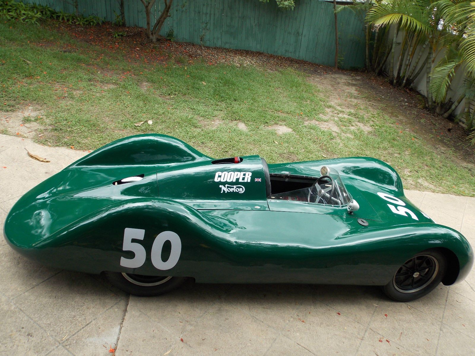 Cooper MK4 Type 11 Race CAR 1950 Streamliner F500 F3 Manx Engine in ...