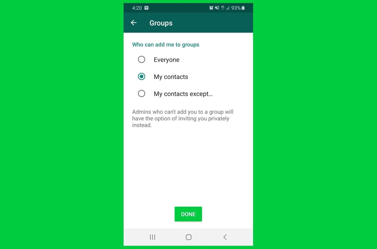 WhatsApp is Finally Making Group Privacy Settings Live