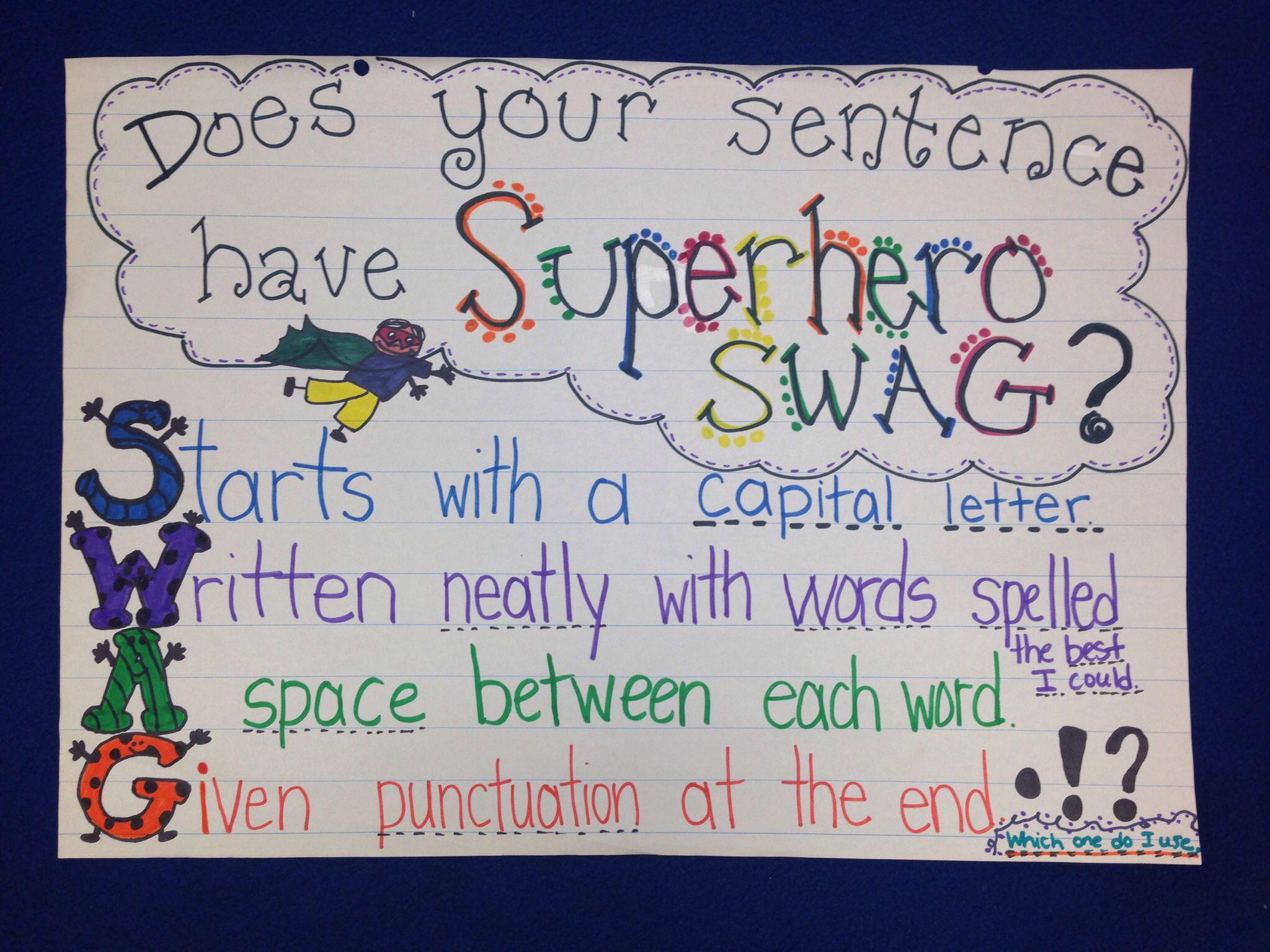 sentence swag anchor chart anchor charts education quotes for