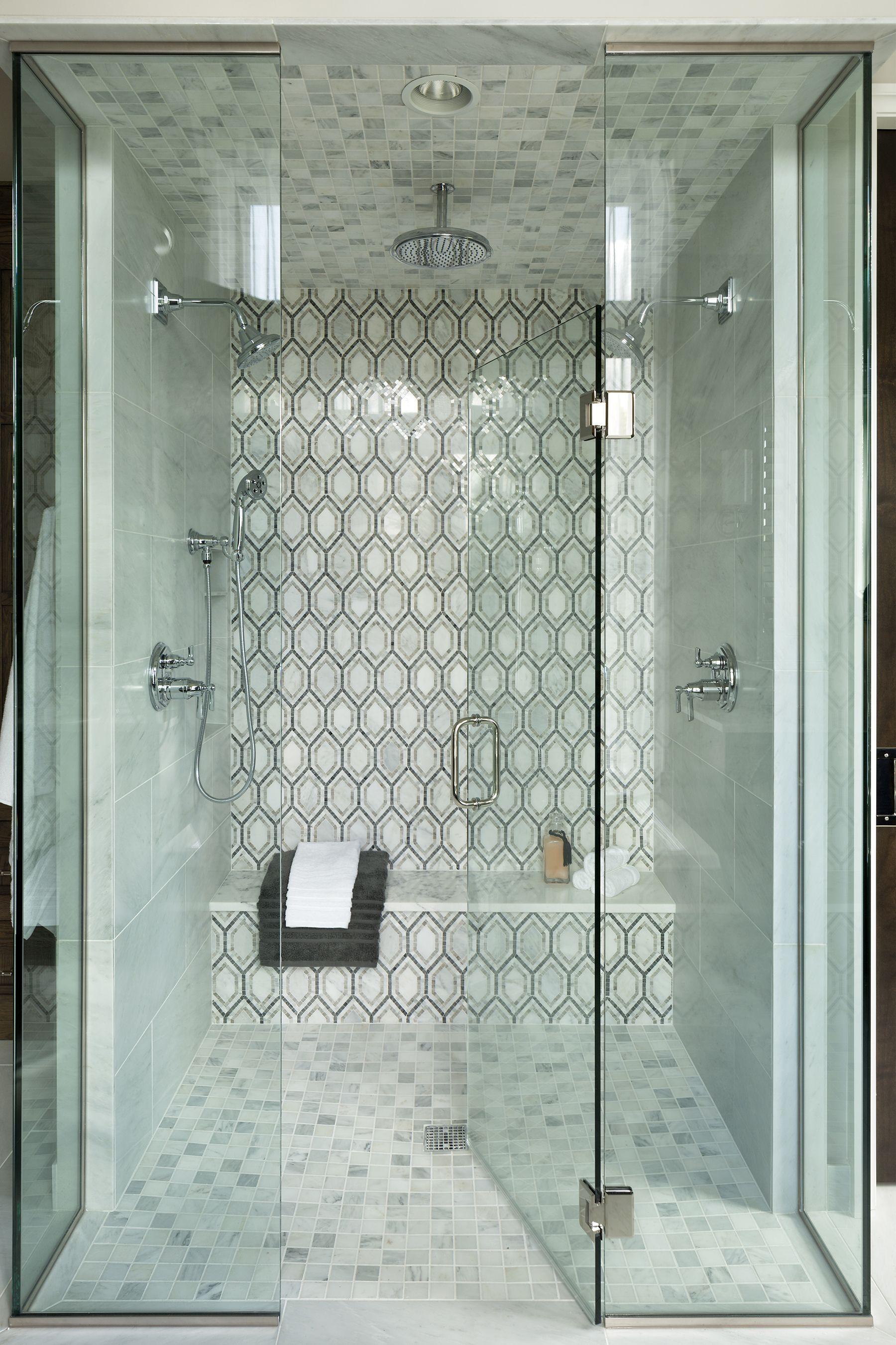 Master Bathroom Shower   Tile   Modern Tudor – Artisan Show House ...
