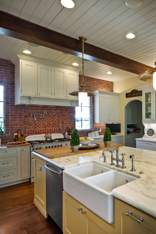 Farmhouse Style Kitchen Designed By Monarch Kitchen Bath