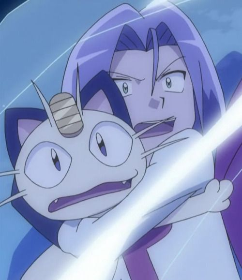 All Hail Pokémon Villains! - james-team-rocket:   James & Meowth vs Jessie &...
