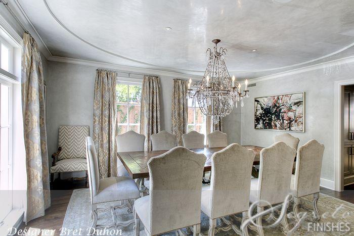 Secrets of Segreto - Segreto Secrets Blog - CeilingLove!!!  waxed the ceiling over the plaster